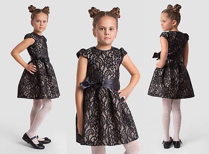 """Детское нарядное платье 2-140 """"Куколка Шитьё Неопрен"""""""