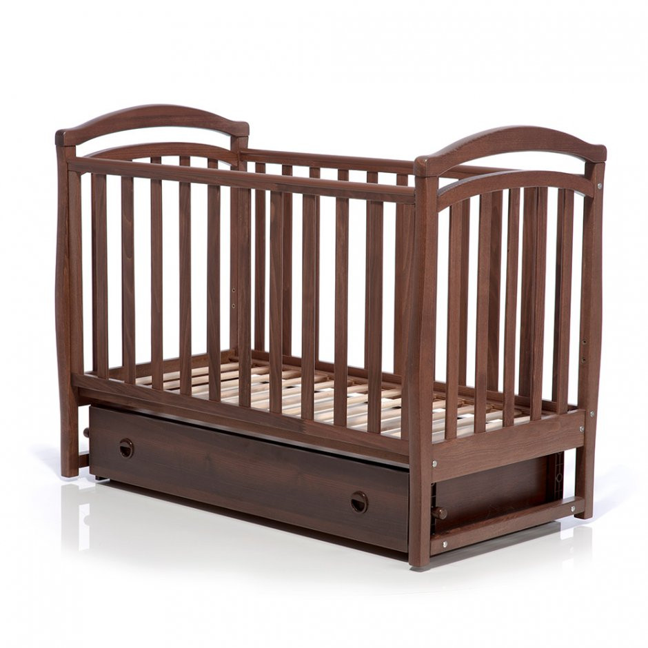 Детская кроватка Верес Соня ЛД6 орех