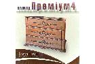 Комод з натурального дерева в спальню/вітальню Преміум 4  4ш Sovinion , фото 2