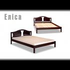 Ліжко півтораспальне з натурального дерева в спальню, дитячу Еліса 140*200 Sovinion, фото 2