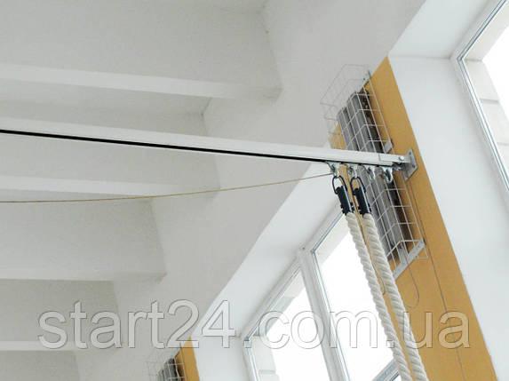 Монорельса для канатов потолочная, фото 2