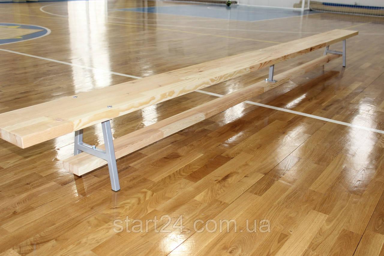 Скамейка гимнастическая Элит 2,5 м