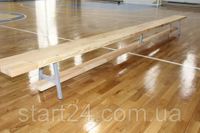 Скамейка гимнастическая Элит 2,5 м, фото 2