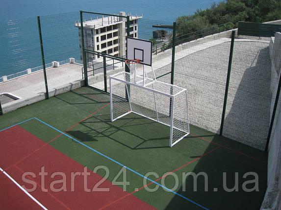 Ворота для мини футбола и гандбола с баскетбольным щитом, фото 2