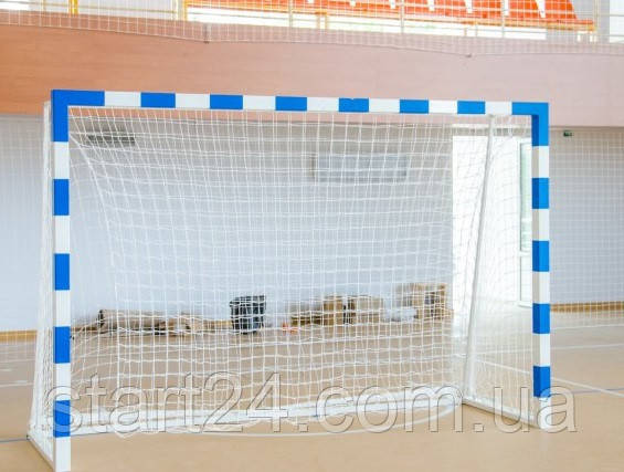 Ворота для минифутбола и гандбола разборные с полосами, фото 2