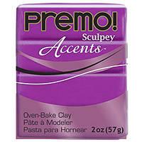 Полимерная глина Sculpey Premo Премо (пр-во США), Фиолет Перламутр Purple Pearl, 5031