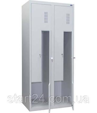 Шкаф одежный металлический, фото 2