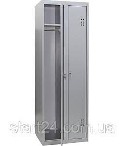 Шкаф одежный металлический усиленный