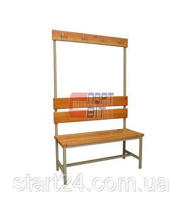 Скамейка односторонняя 1,5 м, фото 2