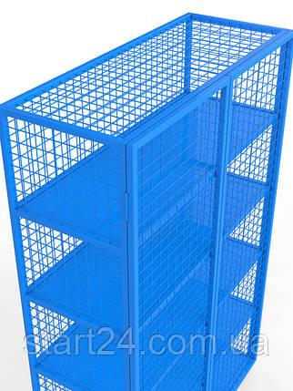 Стеллаж для хранения спортивного инвентаря закрытого типа, фото 2