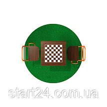 Стол для шахмат уличный с сидениями, фото 3