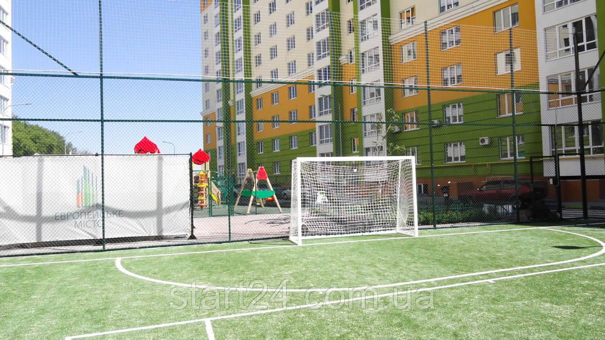 Ворота для футбола 2500х1700 мм без полос