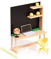 Набор для кукол LORI мебель для домашнего рабочего стола, LO37006Z