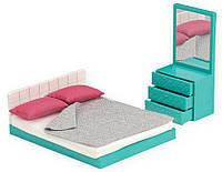 Набор для кукол LORI мебель для спальни, LO37013Z