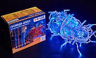 Светодиодная гирлянда DELUX Icicle 27 flash 2 х 1м 108LED Синий/Белый, фото 1