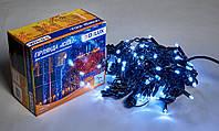 Светодиодная гирлянда DELUX Icicle 27 flash 2 х 1м 108LED Белый/Черный, фото 1