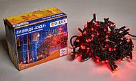 Светодиодная гирлянда DELUX Icicle 27 flash 2 х 1м 108LED Красный/Черный, фото 1