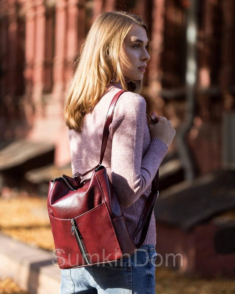 Rjet рюкзак без клапана бордо титан