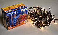Светодиодная гирлянда DELUX Icicle 27 flash 2 х 1м 108LED Теплый белый/Черный, фото 1