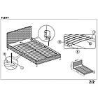 Ліжко двоспальне в спальню Польша Flexy 160*200 Halmar, фото 2
