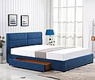 Ліжко двоспальне в спальню Польша Merida 160*200 Halmar, фото 2