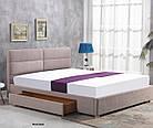 Ліжко двоспальне в спальню Польша Merida 160*200 Halmar, фото 3