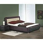 Ліжко двоспальне в спальню Польша Samanta P 160*200 Halmar, фото 2