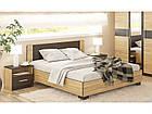Лiжко двоспальне у спальню з ДСП Вероніка Мебель Сервіс, фото 2