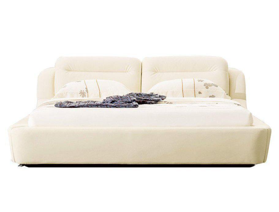 Ліжко з м'якою спинкою Марсель з підйомним механізмом (160 х 200) КІМ