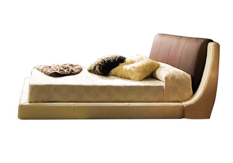 Ліжко з м'якою спинкою з підйомним механізмом Дубаі (200 х 200) КІМ
