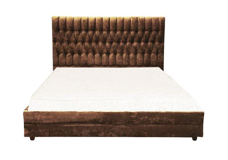 Ліжко з м'якою спинкою з підйомним механізмом Беннелюкс (180 х 200) КІМ