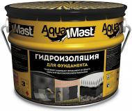 Мастика битумная AquaMast гидроизоляционная ФУНДАМЕНТ (18кг)