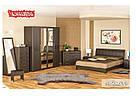 Шафа в спальню з ДСП 4Д Токіо Мебель Сервіс, фото 4