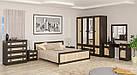 Лiжко двоспальне в спальню з ДСП 1600 Даллас Мебель Сервіс, фото 3
