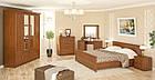 Шафа в спальню з ДСП 4Д2Ш Даллас Мебель Сервіс , фото 5