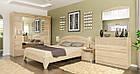 Комод в спальню з ДСП i МДФ 4Ш Аляска Мебель Сервіс, фото 3