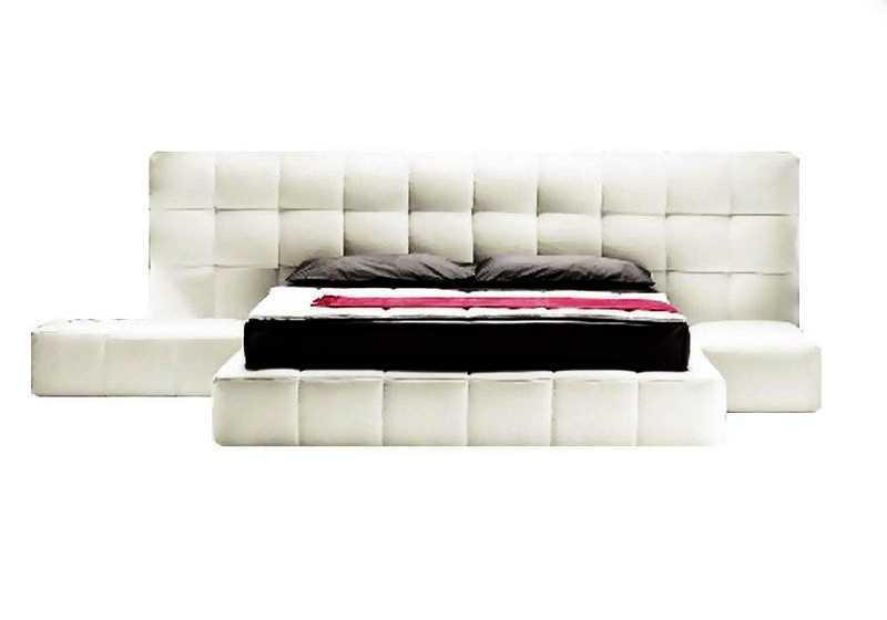 Ліжко з мякою спинкою Бренд (200 х 200) КІМ