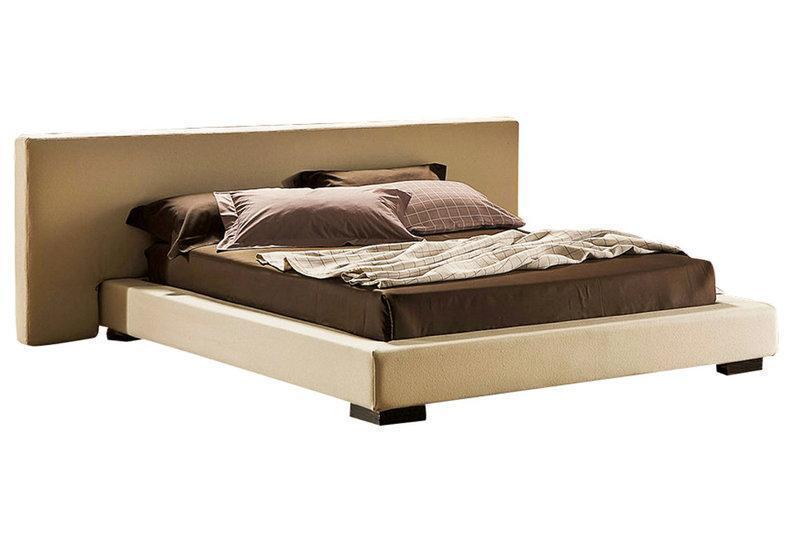 Ліжко з м'якою спинкою з підйомним механізмом Вілія (180 х 200) КІМ