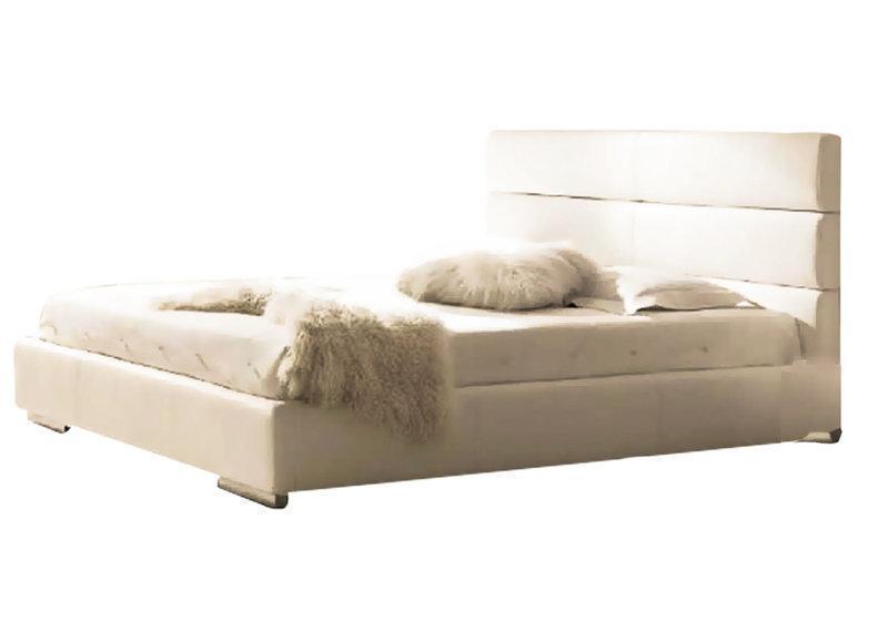 Ліжко з м'якою спинкою Корзо (200 х 200) КІМ