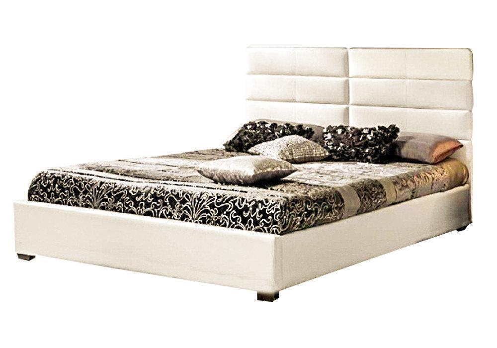 Ліжко з м'якою спинкою з підйомним механізмом Естер (160 х 200) КІМ