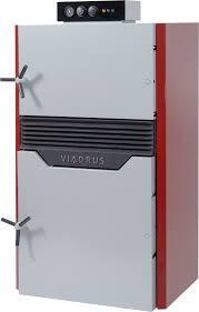 Котел Viadrus Hefaistos P1-3 на 30 кВт   Чугунный пиролизный котел на дровах