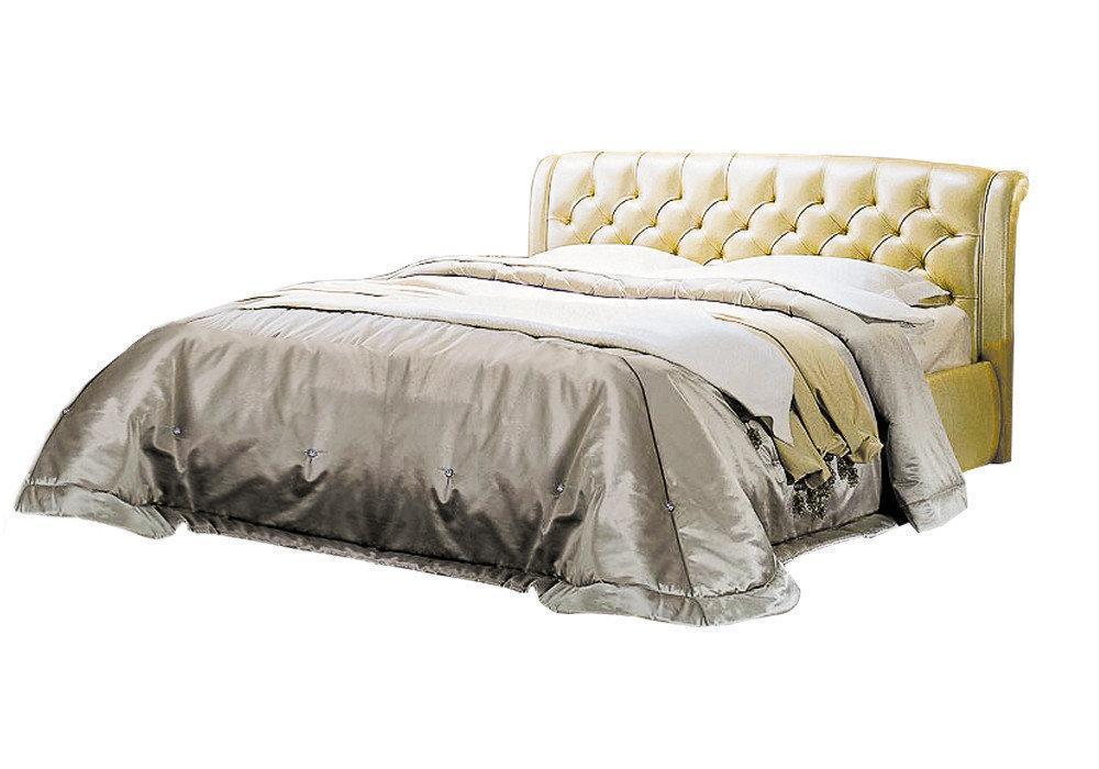 Ліжко з м'якою спинкою Рімінні (200 х 200) КІМ