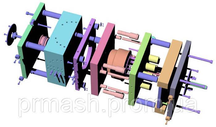 Модельная оснастка кокиля литьевые формы матрицы пуансон штамп изложницы Шлифование плоскостей шлифовка валов