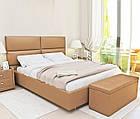Ліжко з м'якою спинкою Денвер (200 х 200) КІМ, фото 2