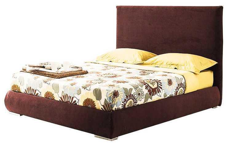 Ліжко з м'якою спинкою з підйомним механізмом Канзас (200 х 200) КІМ