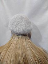 Берет из ангоры URCHIN Алсу  3280 серый, фото 3