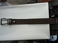 Ремень LEVISмужской джинсовый кожзам