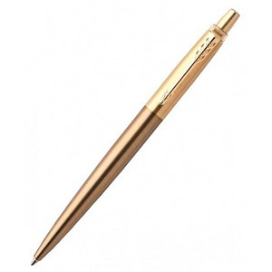 Ручка Паркер Jotter Luxury West End Brushed Gold шарик