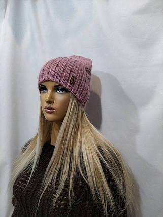 Шапка женская YUAN MENG Аиша 8531 розовый, фото 2