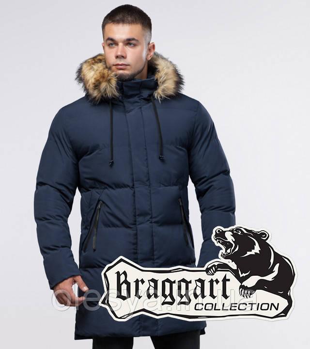 Braggart Youth | Зимняя куртка 25290 синяя